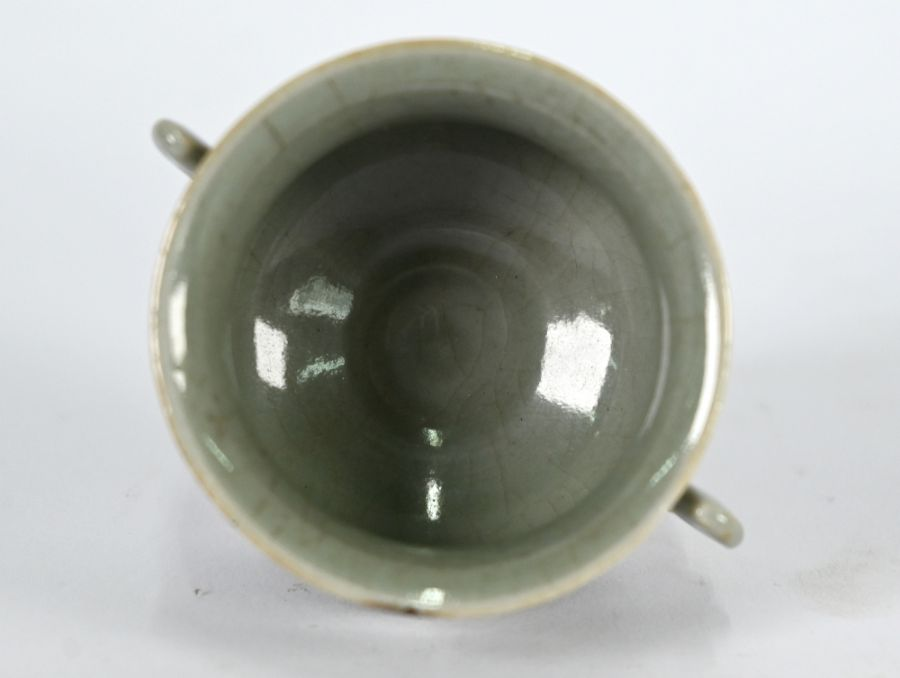 A Chinese Ge style small censer, 4.5 cm high - Image 7 of 8