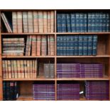 Large quantity of law reports and books