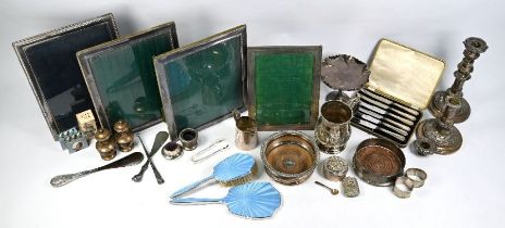 Silver and electroplated wares, etc.
