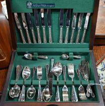 Canteen of epns Arthur Price 'Dubarry' flatware