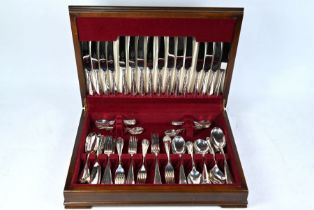 Canteen of ep rat-tail flatware