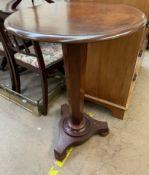 A Victorian mahogany side table,