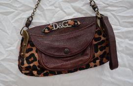 A Dolce and Gabbana handbag,