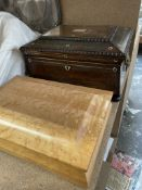 A Victorian rosewood,