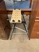 A Pro Tools folding work bench