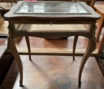 A continental inlaid bijouterie table,