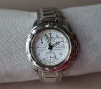 A Gentleman's Tissot Professional PR100 wristwatch, the white dial with minute,