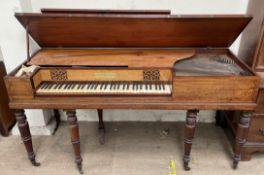A Thomas Preston of London square piano,