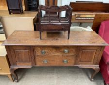 A 19th century oak dresser base,