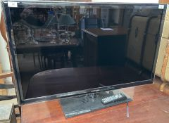 "A Samsung 40"" flat screen television model No."