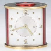 LeCoultre Two Tone Cylindrical Travel Alarm