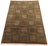Fine Hand-Knotted Gabbeh Carpet