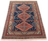 Hand Knotted Turkish Village Carpet
