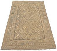Fine Hand-Knotted Kilim Village Carpet