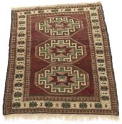 Fine Antique Hand-Knotted Caucasian Carpet, ca. 1930's