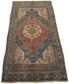 Very Fine Semi-Antique Hand-Knotted Azari Carpet