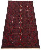 Fine Semi-Antique Hand-Knotted Zanjan Carpet