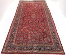 Very Fine Near-Antique Hand-Knotted Sarouk Carpet, ca. 1940's