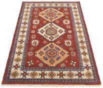 Very Fine Hand-Knotted Kazak Carpet