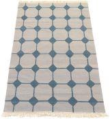 Fine Hand-Knotted Village Kilim Carpet