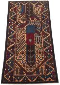 Very Fine Hand-Knotted Balouch Carpet