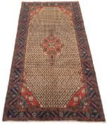 Fine Semi-Antique Hand-Knotted Koliaie Village Carpet