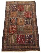 Very Fine Hand-Knotted Ghouchan Kharasan Carpet