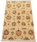 Fine Hand-Knotted Tabriz Sculpted Carpet