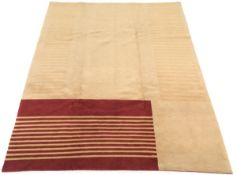 Very Fine Hand-Knotted Gabbeh Carpet