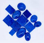 MIXED LOT OF LOOSE LAPIS LAZULI, 101.2 CT.