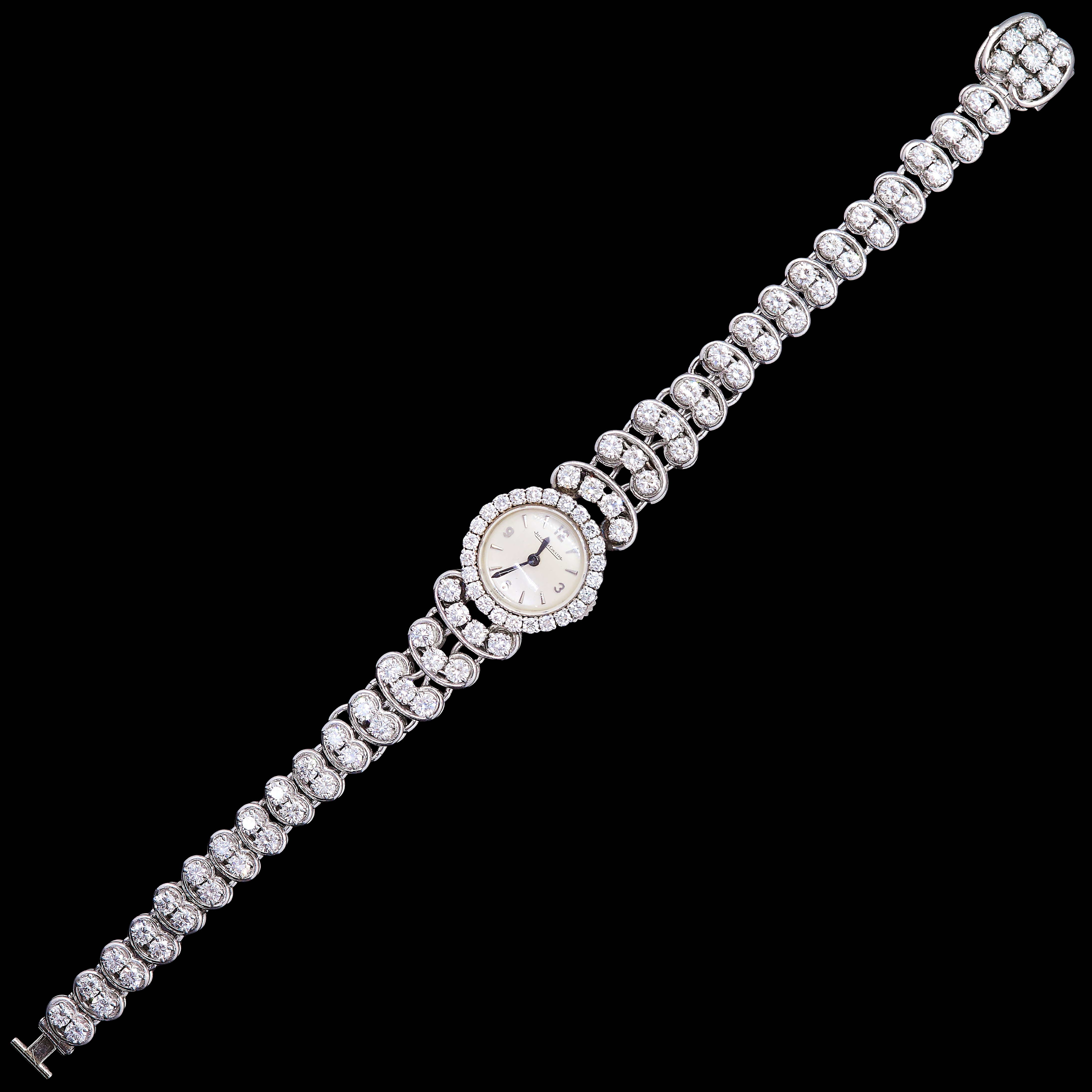 JEAGER-LECOULTRE, DIAMOND DRESS WATCH - Image 2 of 2