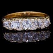 DIAMOND 5-STONE RING