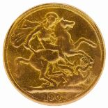 DOUBLE SOVEREIGN, 1902