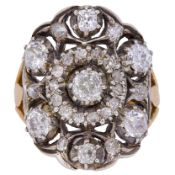 ANTIQUE DIAMOND DRESS RING