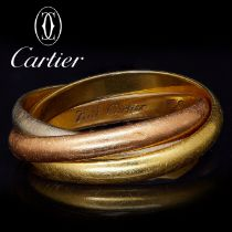 CARTIER, TRINITY PUZZLE RING
