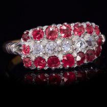 RUBY AND DIAMOND DRESS RING