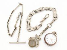 Damentaschenuhr Si 800, Lepine-Gehäuse, Dca.2,8cm, weißes Emailzifferblatt, röm. Ziffern, äußerer