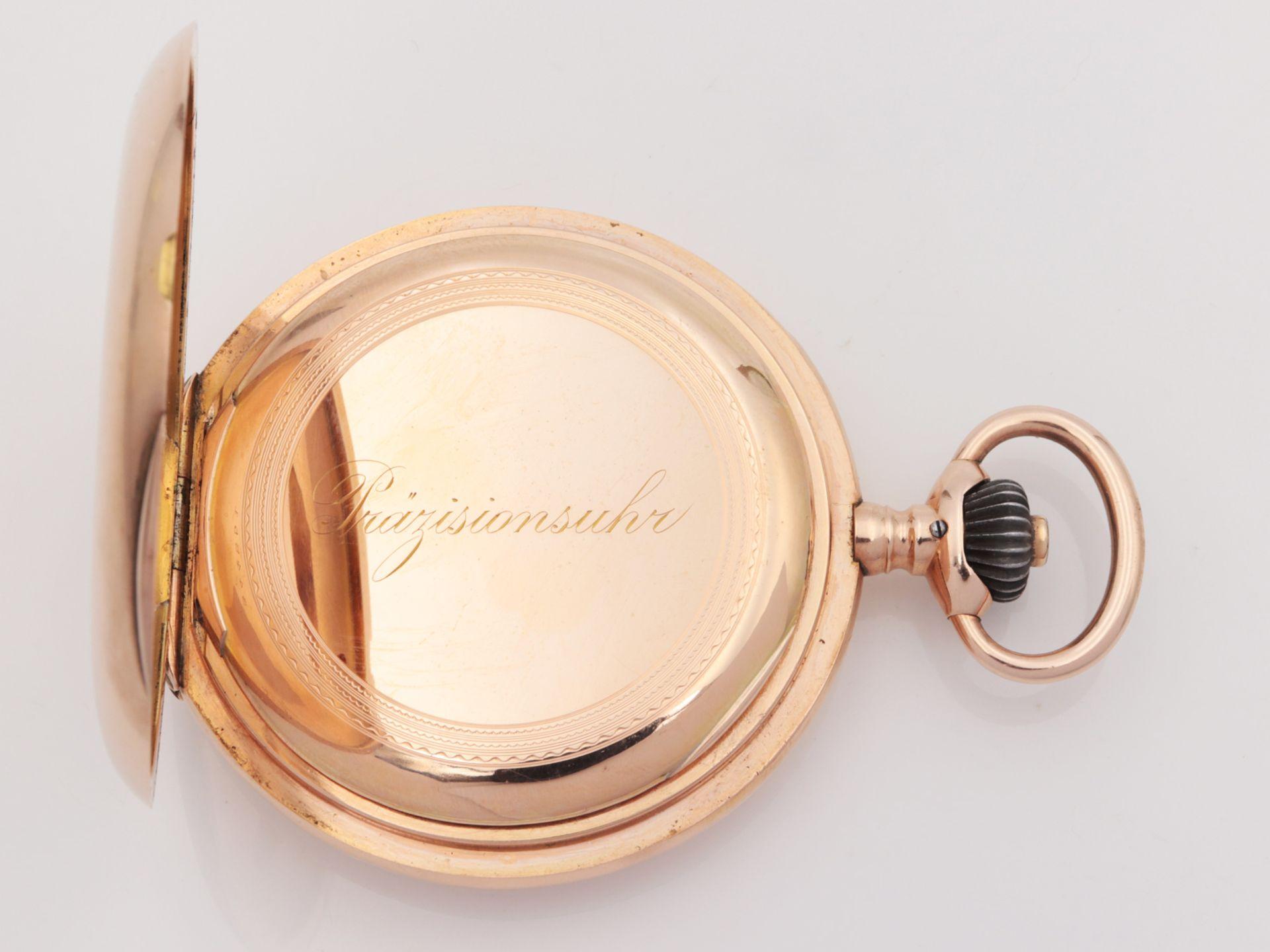 IWC – Herrentaschenuhr Gelbgold 585, 14Kt, Savonette, Dca.5cm, weißes Emailzifferbl - Image 2 of 22
