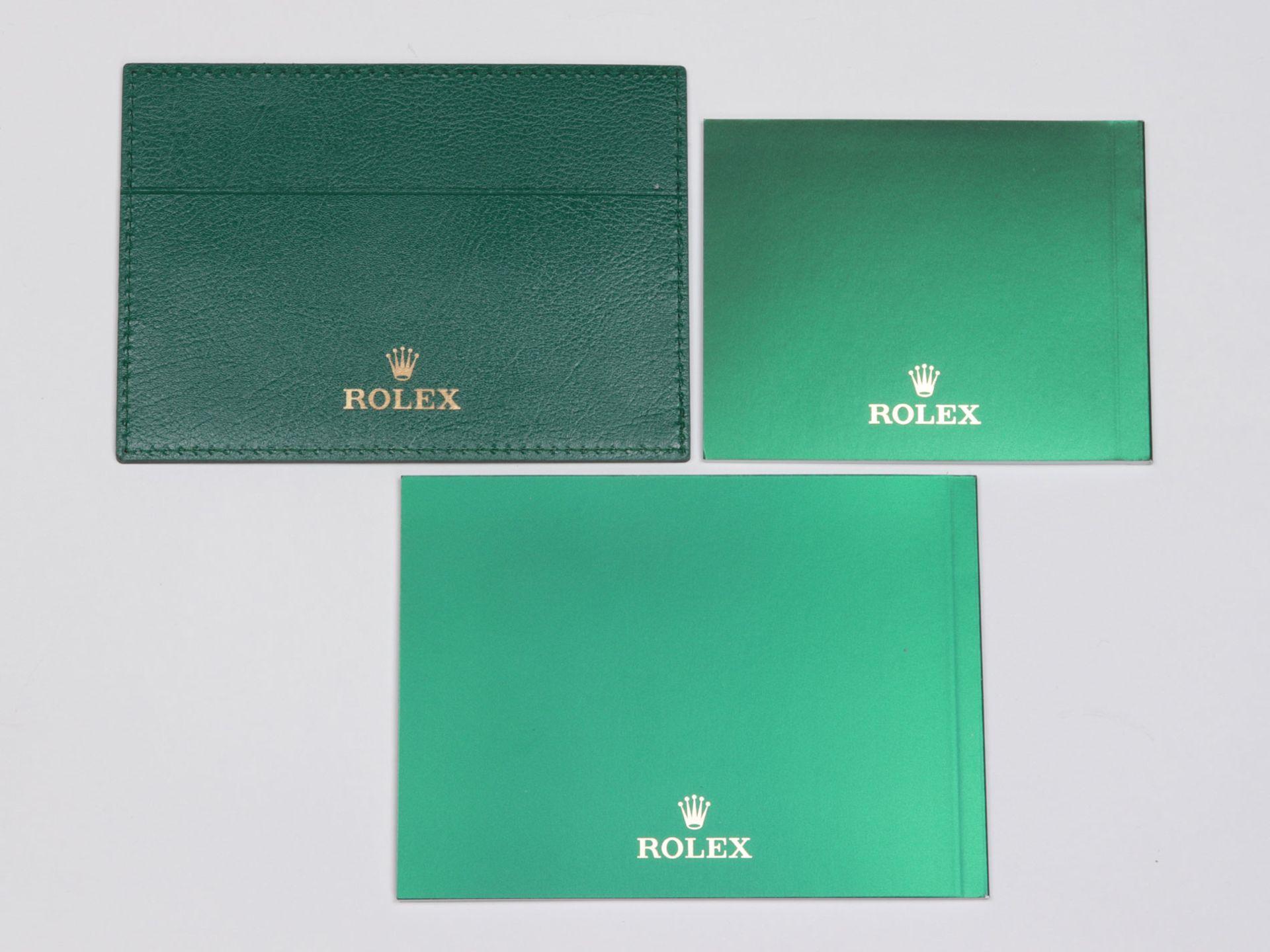 Rolex - Herrenarmbanduhr Roségold 750, Rolex Day-Date Oyster Perpetual, Superlative C - Image 11 of 17