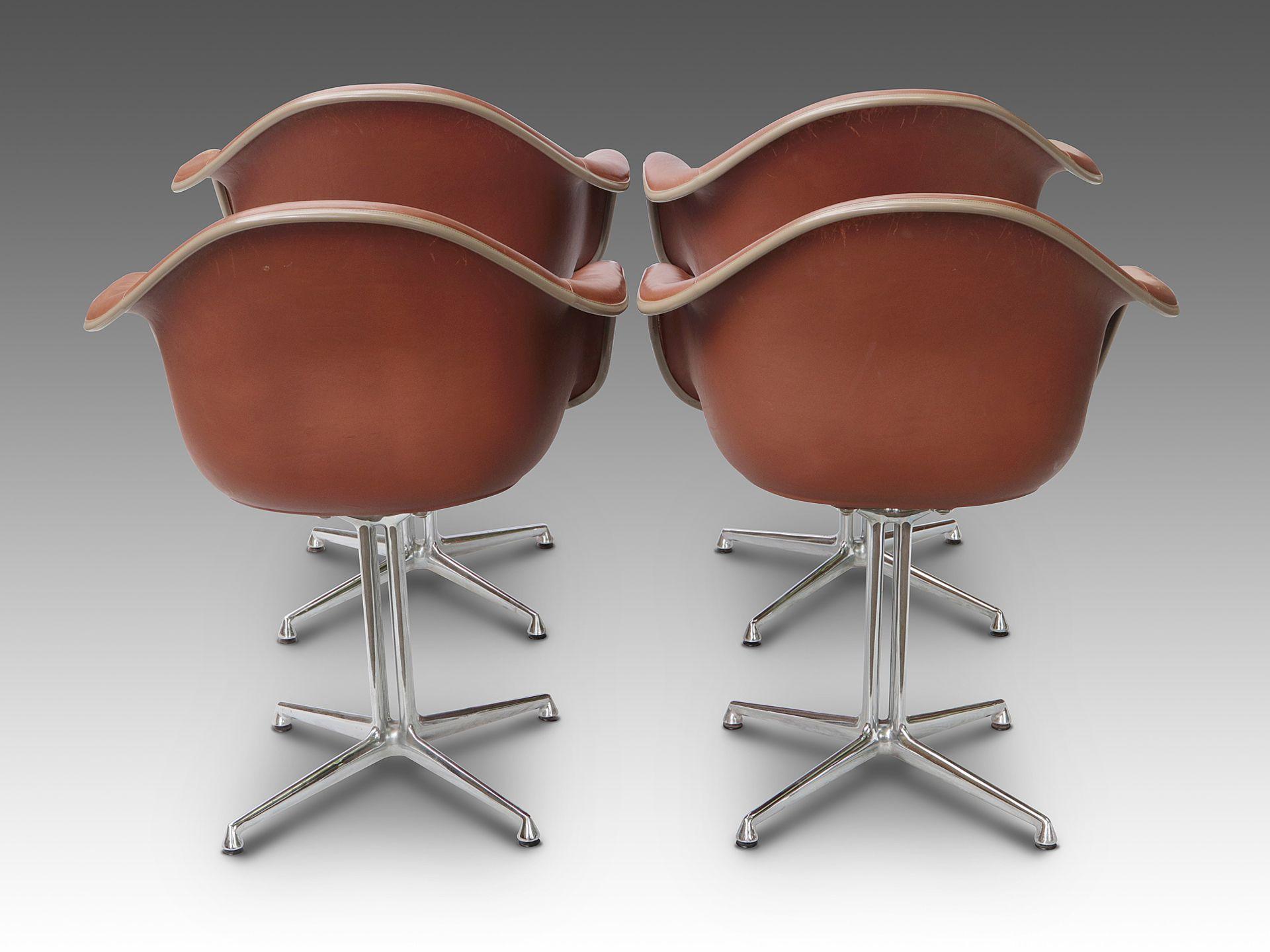 Eames-Schalensessel - 8er Satz - Image 3 of 9