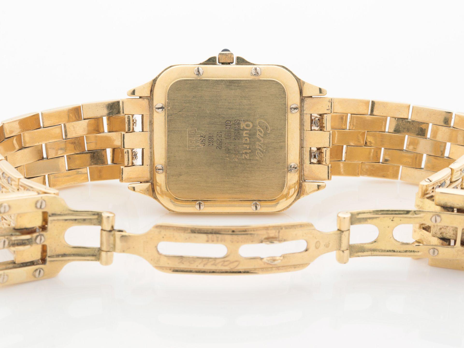 Cartier - Damenarmbanduhr - Image 9 of 14