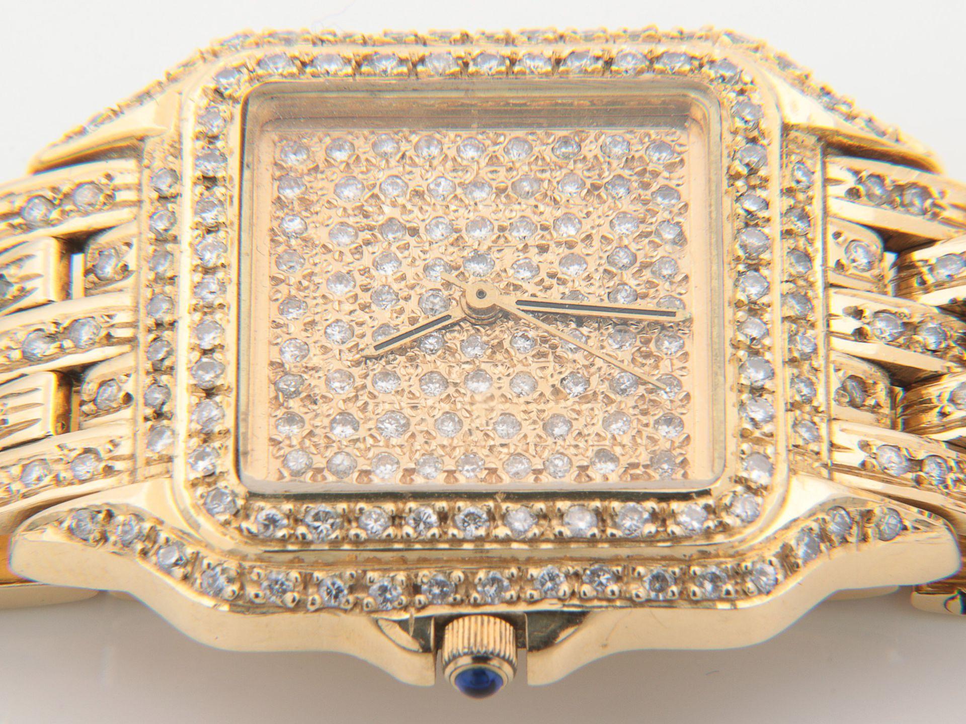 Cartier - Damenarmbanduhr - Image 5 of 14