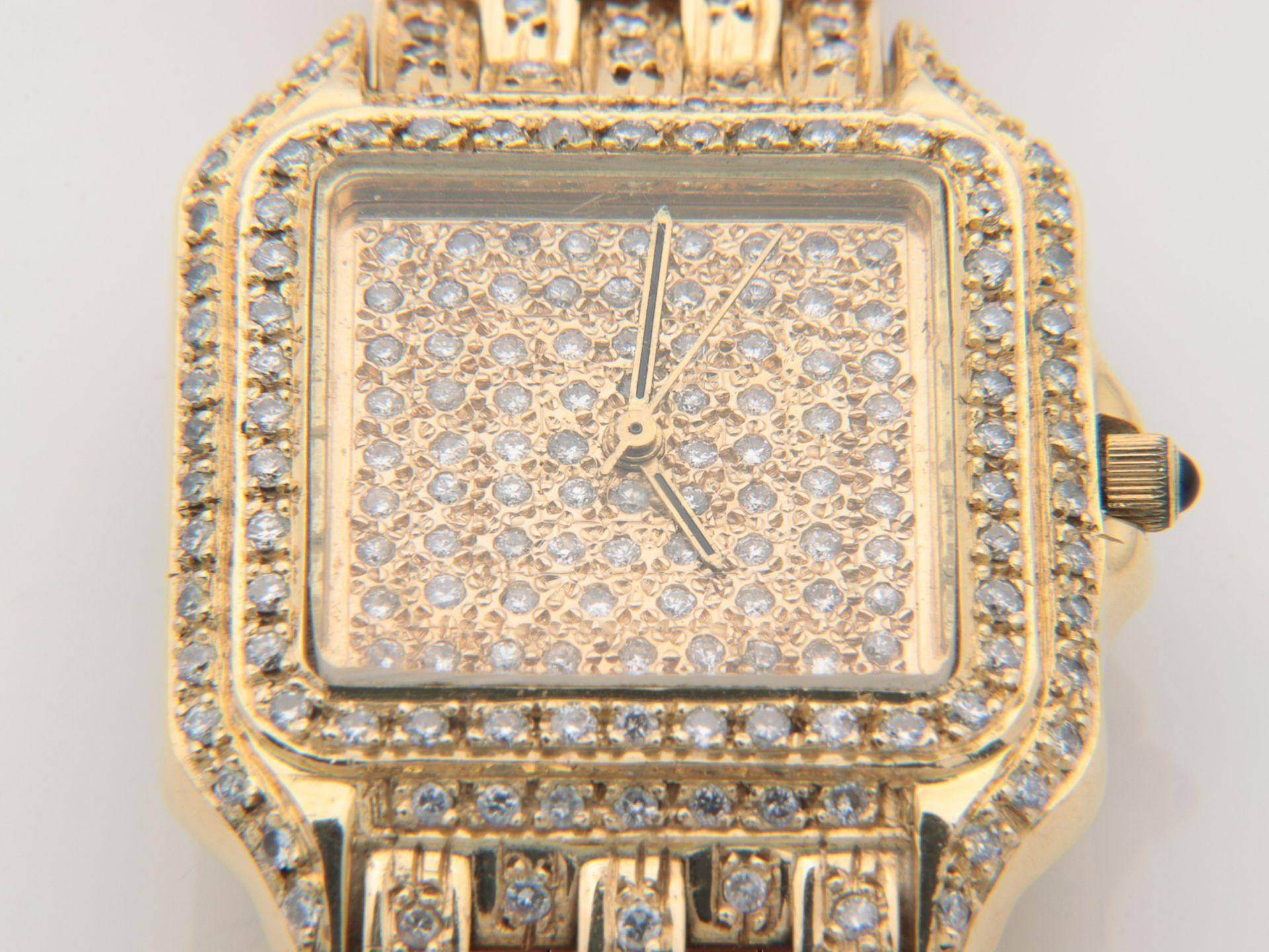Cartier - Damenarmbanduhr - Image 3 of 14
