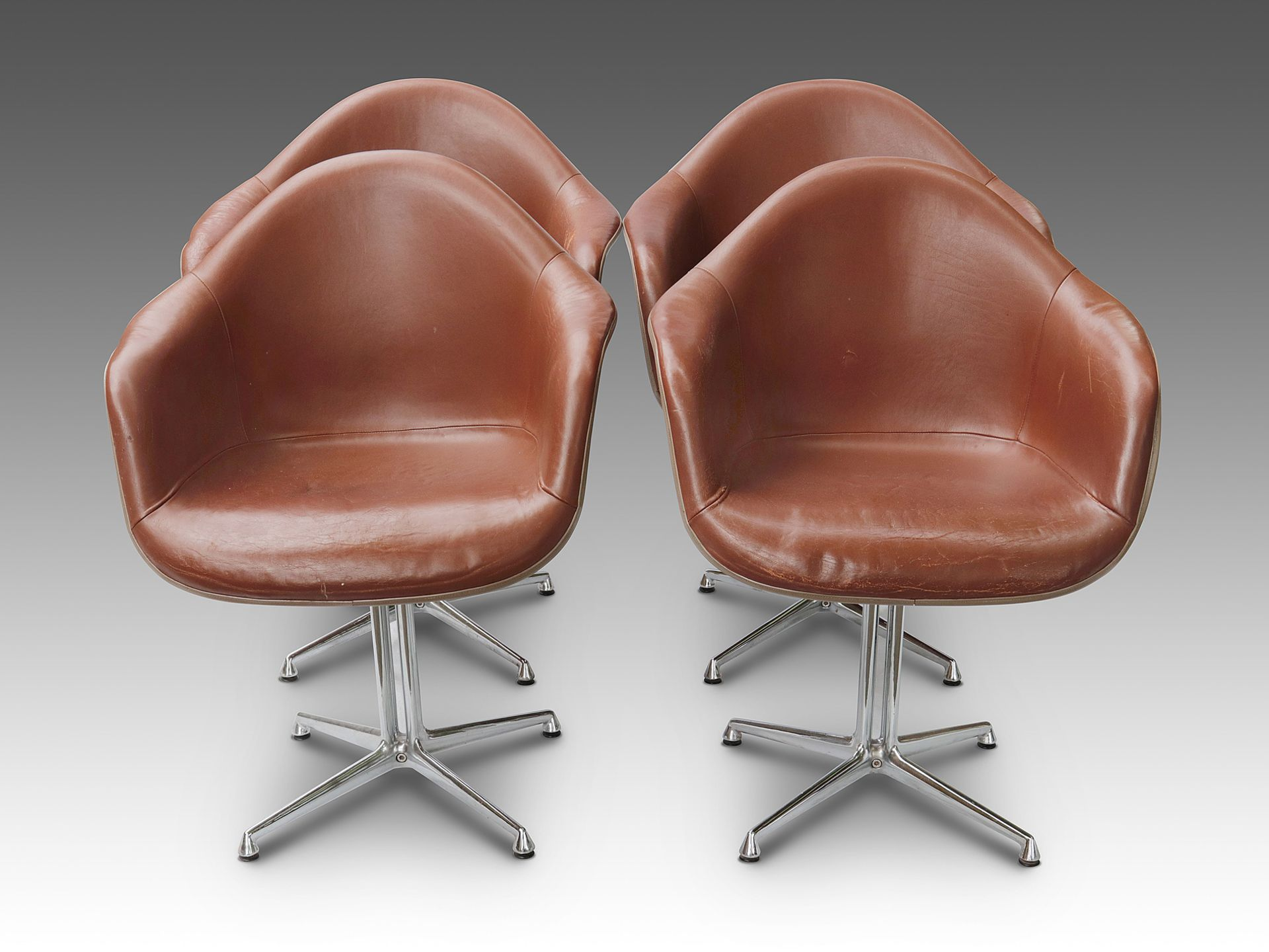 Eames-Schalensessel - 8er Satz - Image 2 of 9
