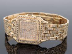 Cartier - Damenarmbanduhr