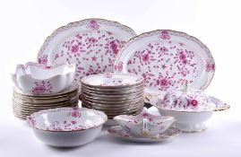 A group of porcelain dining service Meissen