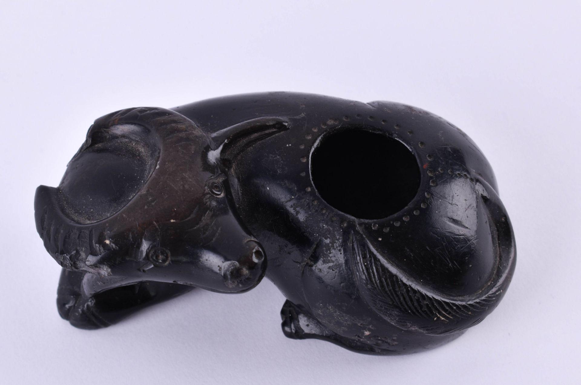 Ink bowl China Qing dynasty - Image 2 of 4