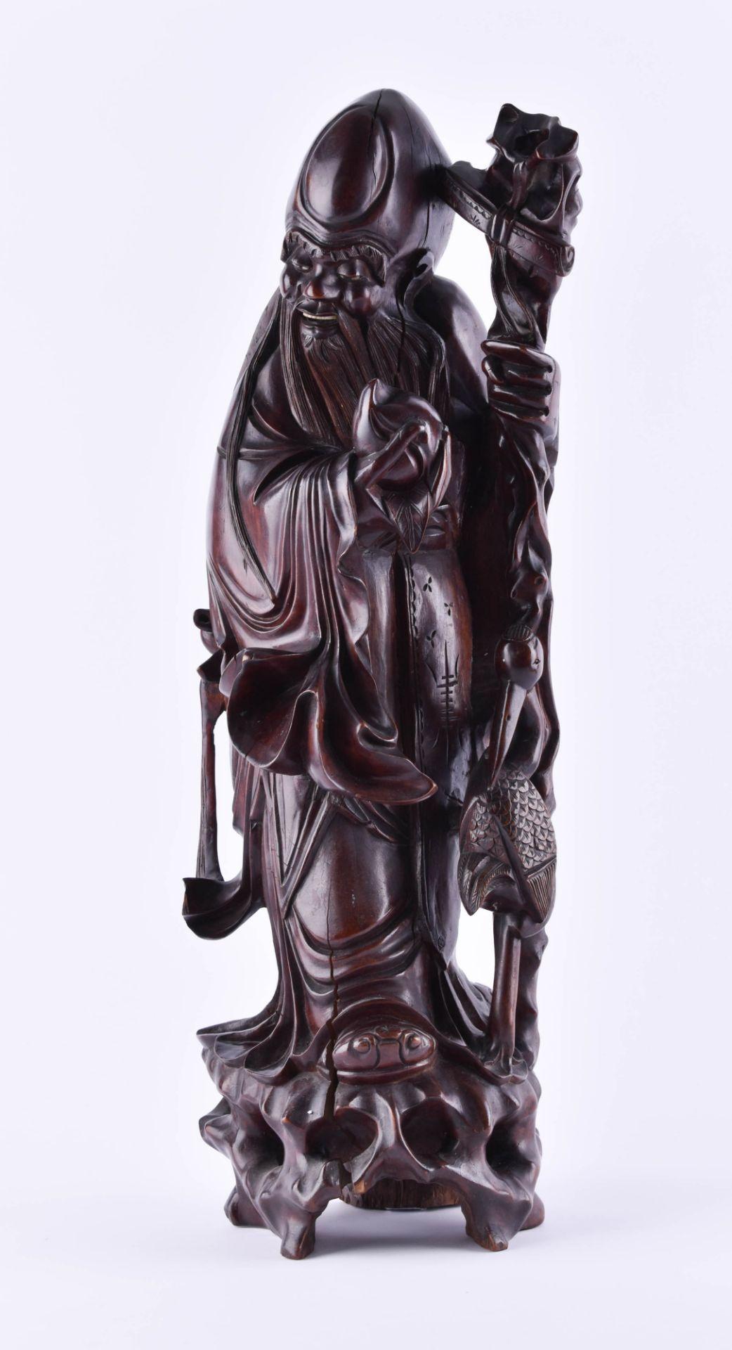 Wooden figure China