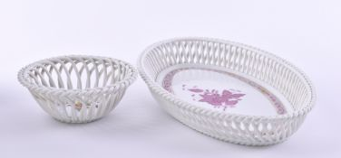 2 baskets Herend