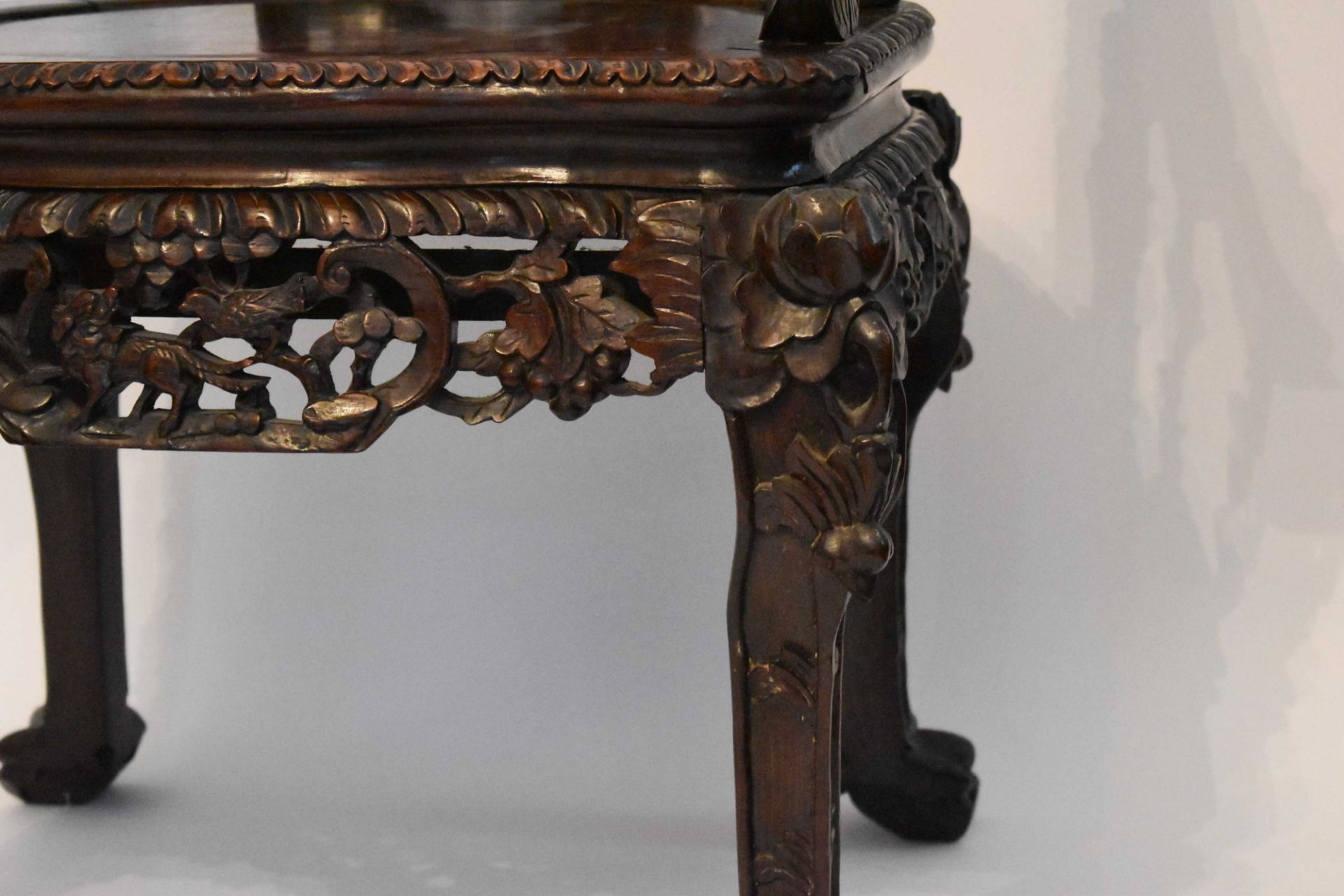 Armchair China Qing period - Image 7 of 8
